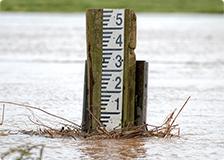 水害ZERO 水位の変化をリアルタイムに感知