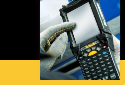 RFIDやバーコード管理と連動が可能