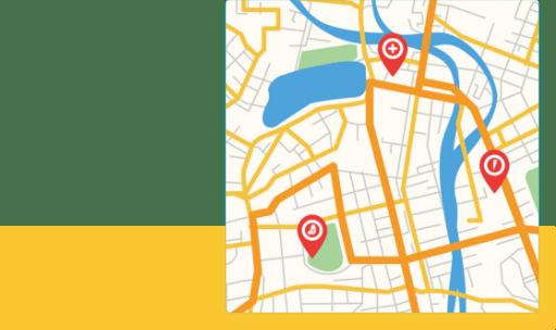GPSで位置情報も把握が可能